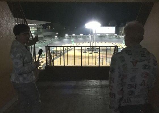 多摩一の夜景スポット!レースを一望できるポイントはココだ!