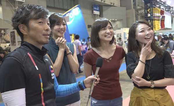 CYCLE MODE #02 サイクルモードで競輪初心者美女と競輪を買ってみた!?