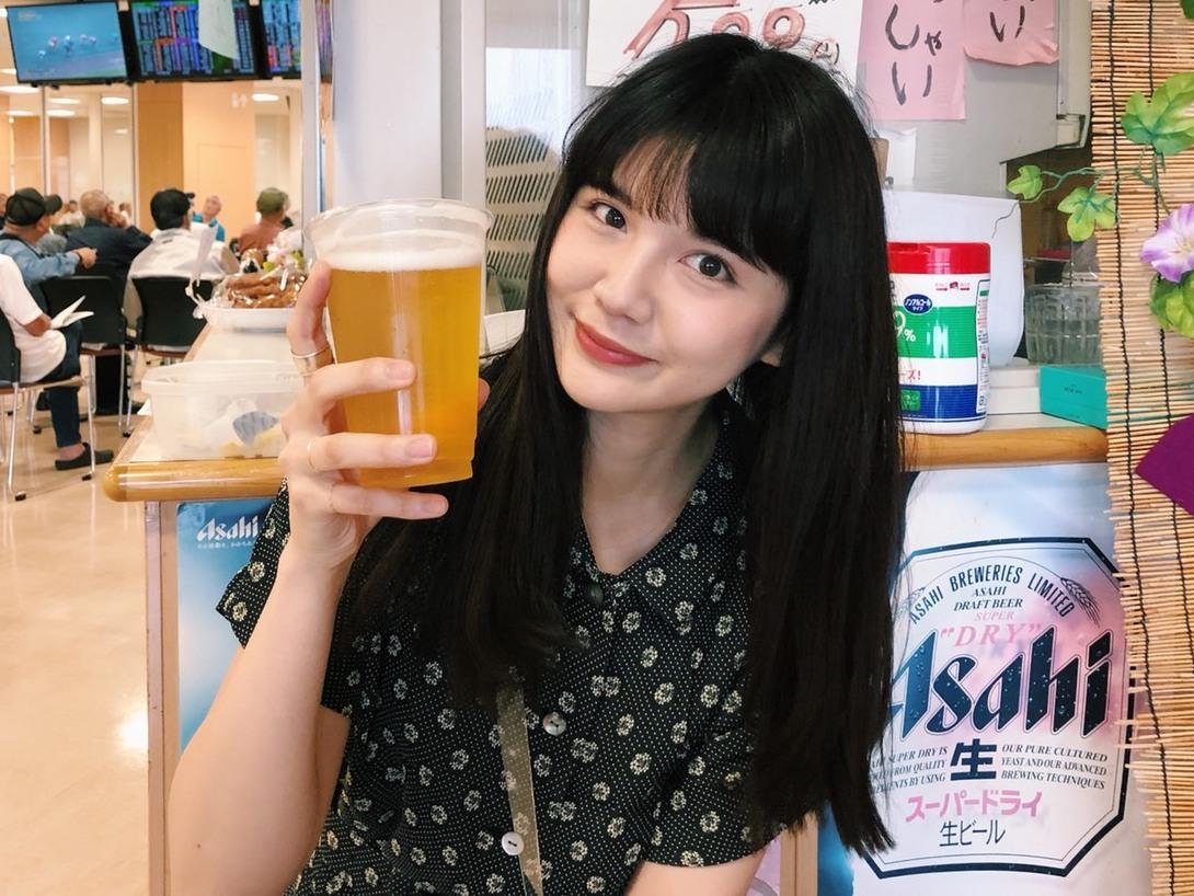 飲んべえモデル村田倫子とギャンブル酒場 vol.1「川崎競輪場」