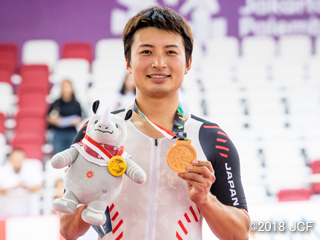 アジア大会・橋本英也選手が金メダルで2連覇!