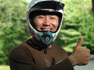 元BMXトップライダーから転身/「力のミナモト」黒田淳選手