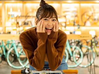 前田亜美、自転車を買いに行く!前編