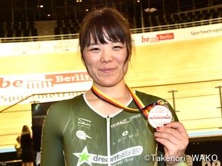 トラックワールドカップ・小林優香選手が女子ケイリンで銅メダル!