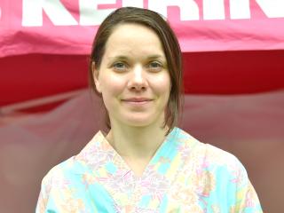 ロリーヌ・ファンリーセン選手